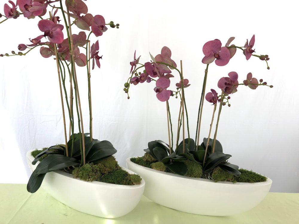 Orchideene - Kunstblume - Kunstpflanze