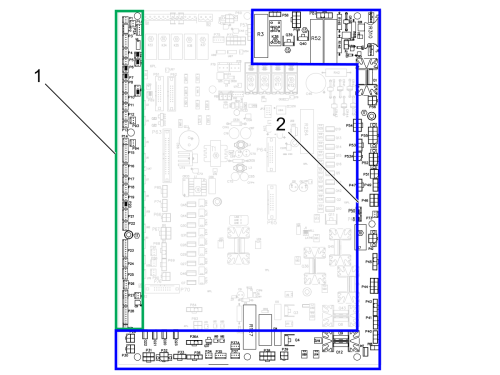 small resolution of the i o pcb is the interface between the control and the all of switches motors sensors solenoids etc