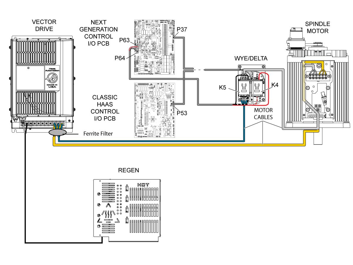encoder motor wiring diagram