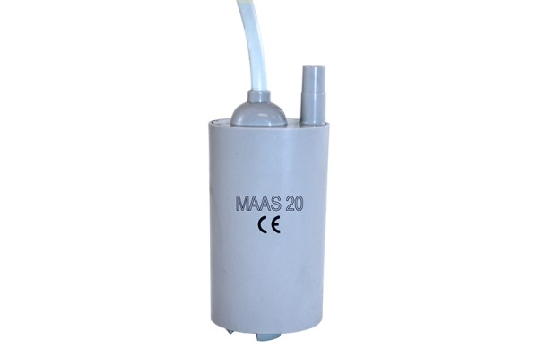 Dompelpomp MAAS-20 12V / 20ltr.