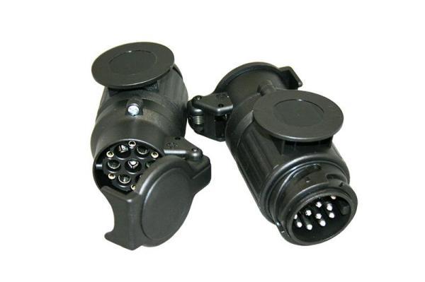 Kortadapter 13-polig DIN–>13-polig WEST