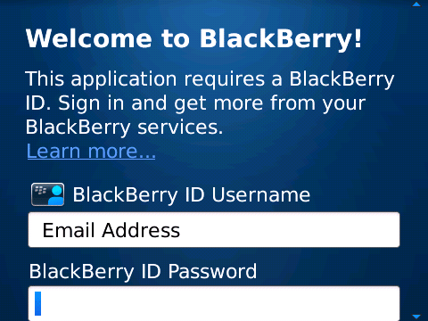 How To Check A BlackBerry ID Username