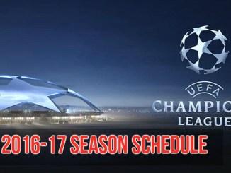 Champions-League-2016-17-schedule
