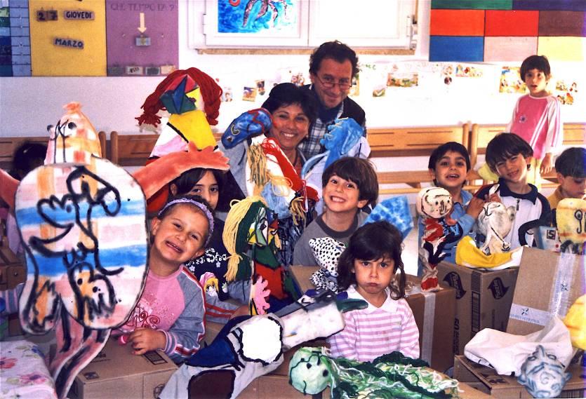 """Laboratorio """"Modern Art"""" nella scuola dell'infanzia di Quercianella (LI) - 2005"""