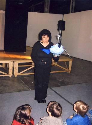 Debutto Azzurra Balena - Teatro del Lac - Fondazione Teseco per l'Arte - 2007