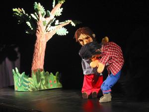 Il Basilicone e i Due Gobbi, burattini, marionette, pupi, ombre, teatro di figura