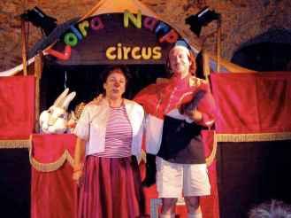 Loira Narpei Circus a Suvereto (LI)