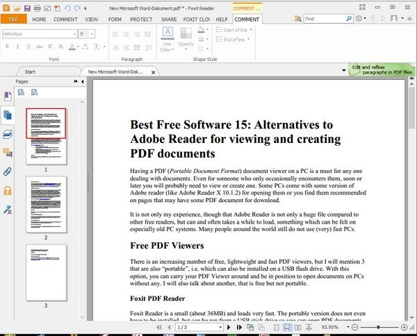 is foxit reader free for commercial use