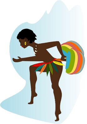 African dancer, African proverbs