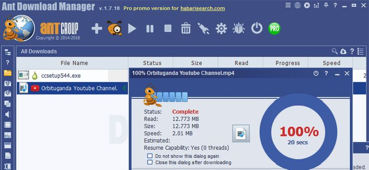 Ant Download Manager & Video Downloader Giveaway