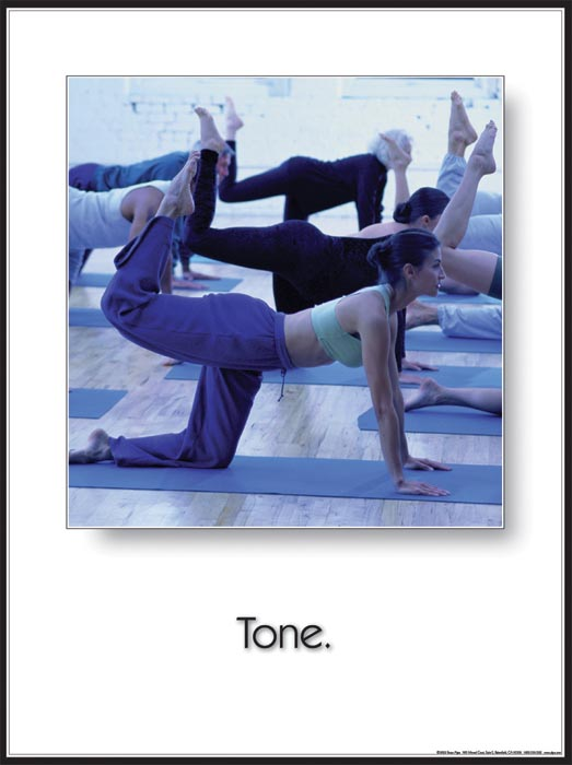 Yoga Inspirational Poster: Tone