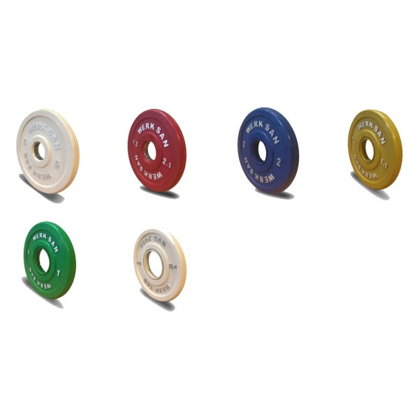 APW1-C-Coloured Rubber Competition Plates