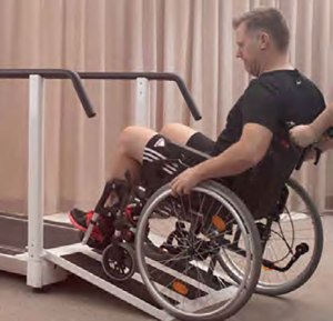 Wheelchair Accessible Treadmill