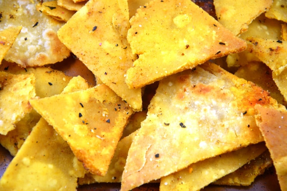 selbstgemachte Tortilla Chips