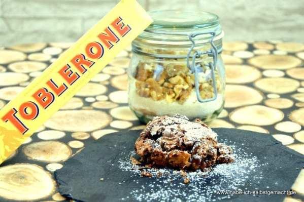 Toblerone Walnuss Brownies