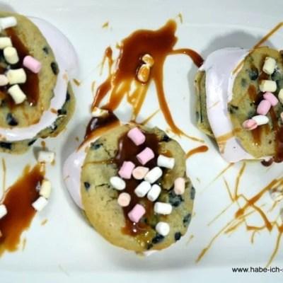 Schoko Whoopies mit Marshmallow Füllung