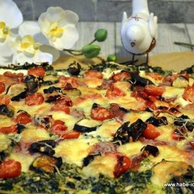 Low Carb Grünkohl Pizza