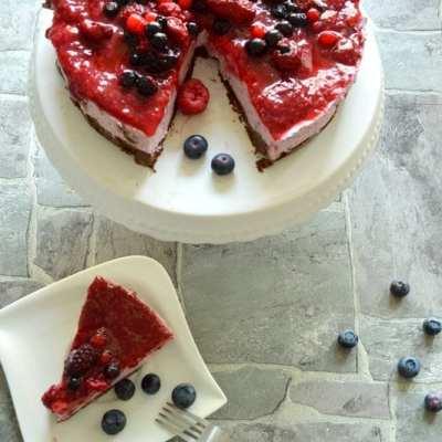 No bake Cassis Torte- Rudelbacken Ahoi mit der neuen Lecker Bakery