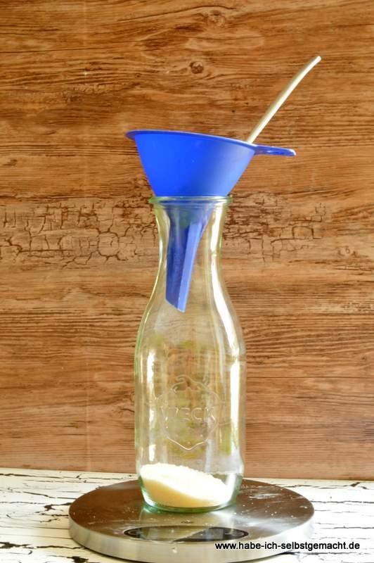 Glas füllen