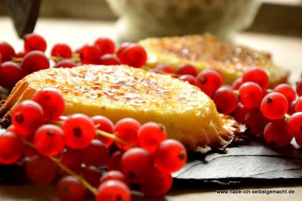 Zitronen Brûlée Tartelettes