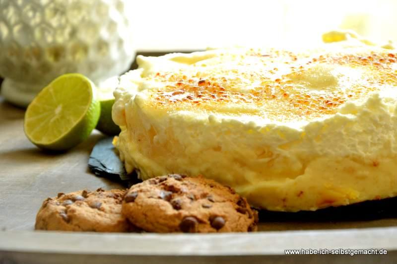 Apfelkuchen Brûlée
