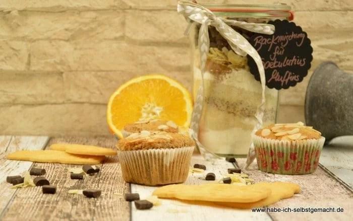 Backmischung Schoko Spekulatius Muffins