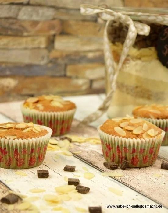 Schokoladen Spekulatius Muffins als Backmischung