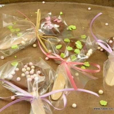 Oreo Kekse mit Schokolade am Stiel
