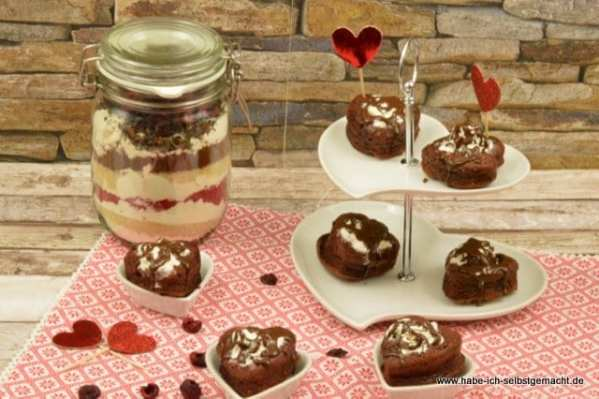 Happy Valentine Muffins