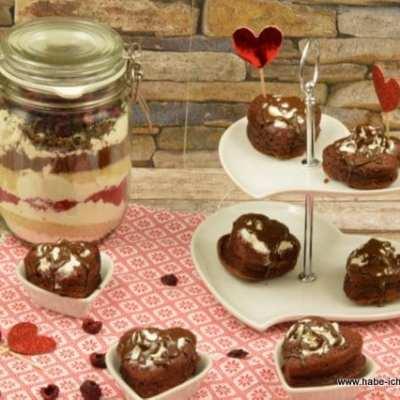 Red Velvet Muffins Backmischung zum Valentinstag