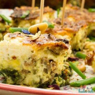 Low Carb Spinat Tortilla-Partyrezept