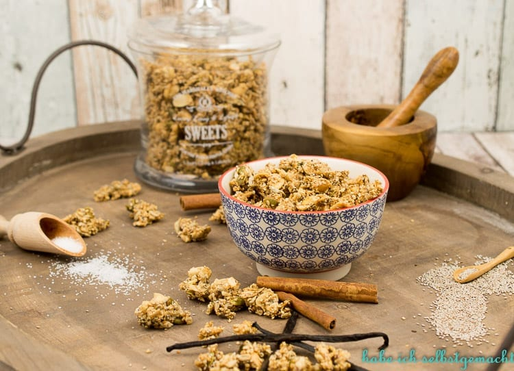 Low Carb Chia Granola