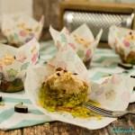Herzhafte Zucchini Cupcakes