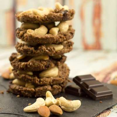 Low Carb Schoko Nuss Cookies