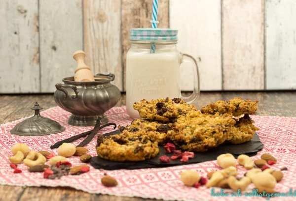Healthy Nuss Cookies