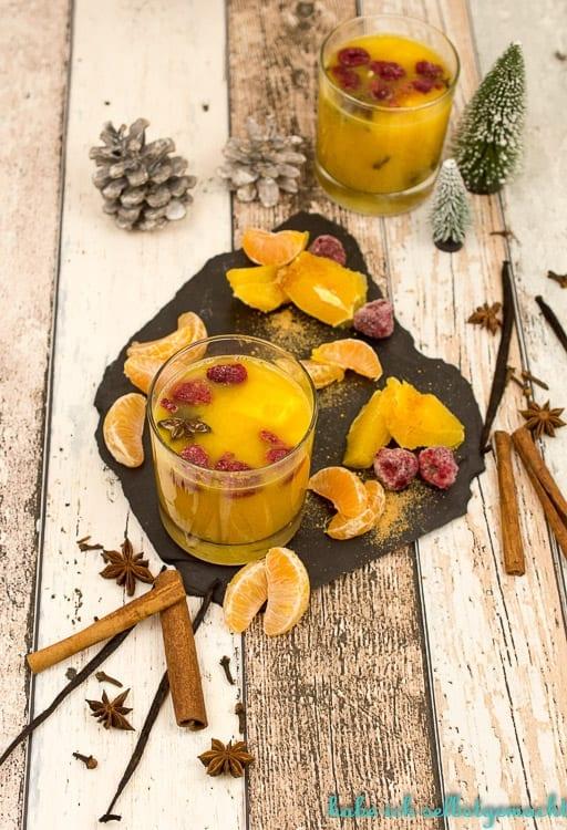 Orangen Mandarinen Punsch