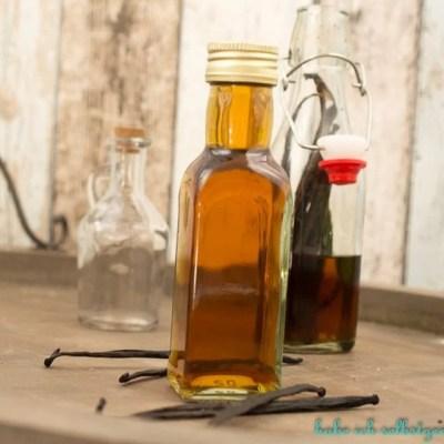 Vanilleessenz  selber machen (Vanilleextrakt)