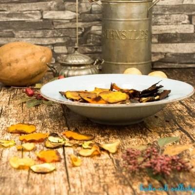 Gemüsechips selber machen im Ofen