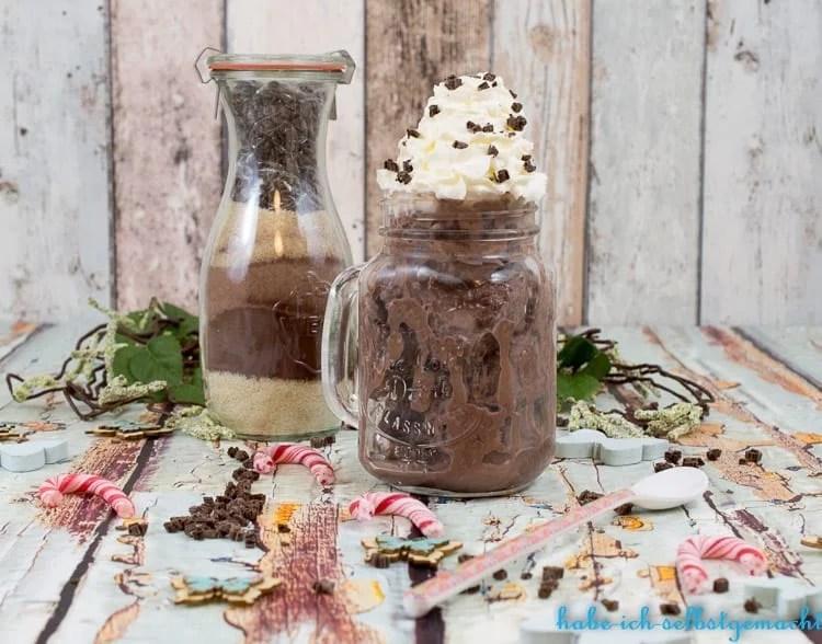 Schokoladeneismischung