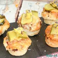 Schnelles Fingerfood - Mini Cheeseburger