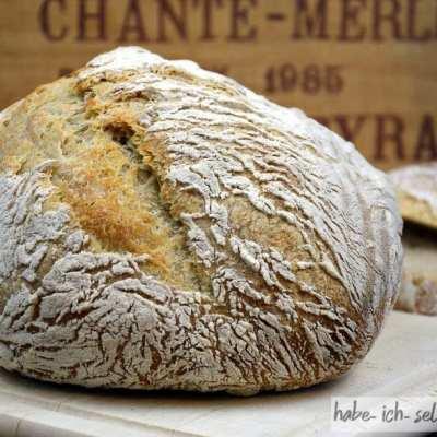 Französisches Boule (rundes Brot)