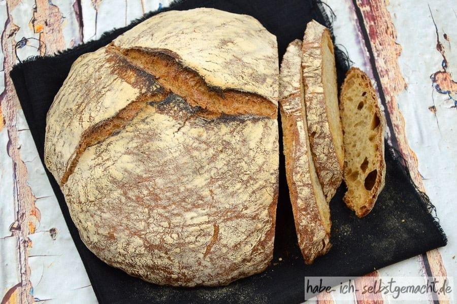 Brot #9 - Klassisches Weizen Sauerteig Brot