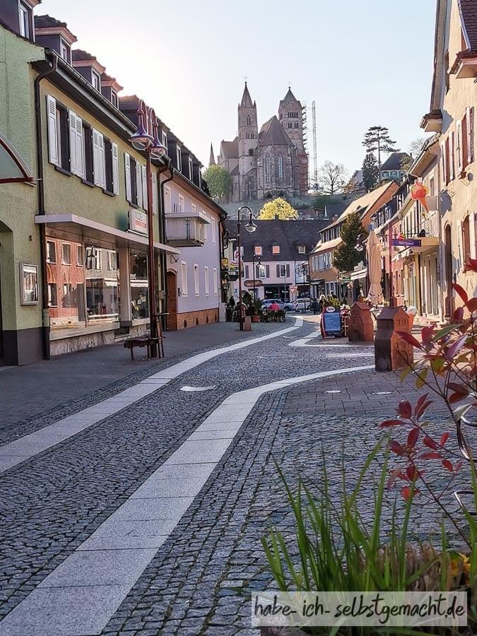 Fußgängerzone von Breisach
