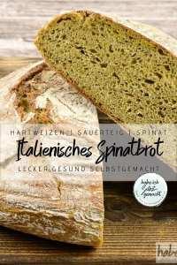 Italienisches Spinat Brot Rezept