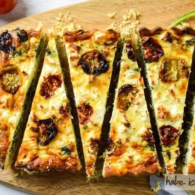 Spinat Feta Quiche – kalt und warm ein Genuss