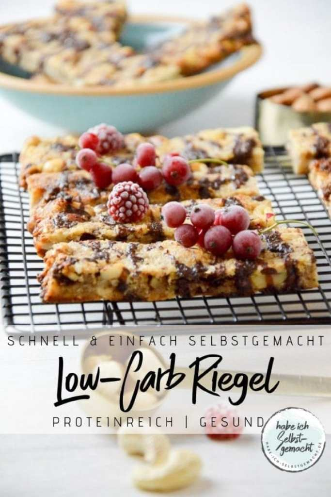 Low-Carb Riegel