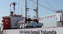 İyilik gemisinin rotası Somali