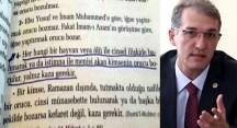 İrgil'den Milli Eğitim Bakanına 'kazık' soru