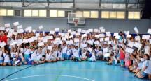 Nilüfer Belediyespor Yaz Spor Okulları'nda sertifika sevinci