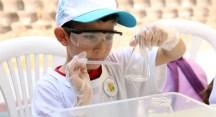 Çocuklar Balat Ormanı'nda doğa ve bilimle iç içe